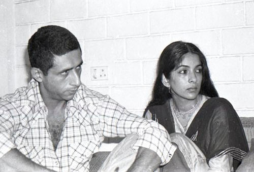 Naseeruddin Shah and Neena Gupta