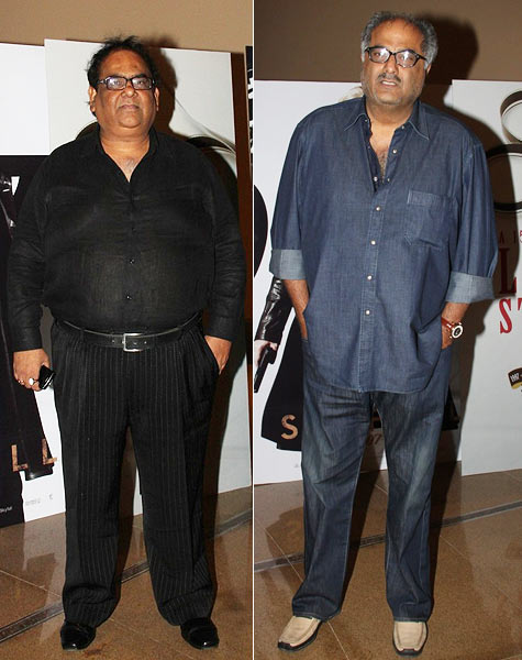Satish Kaushik and Boney Kapoor