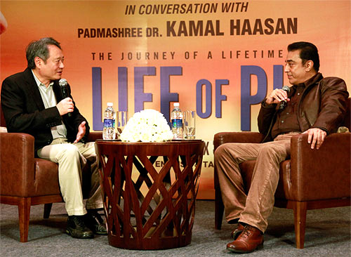 Ang Lee and Kamal Haasan