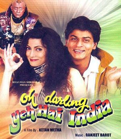 Movie poster of Oh Darling! Yeh Hai India!