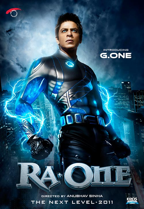 Movie poster of Ra. One