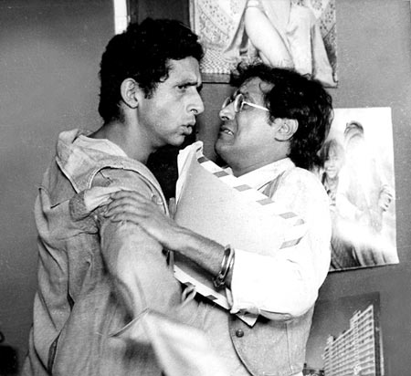 A scene from Jaane Bhi Do Yaaro