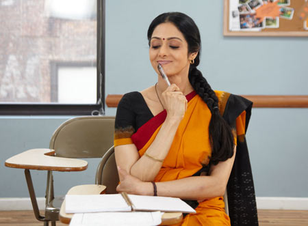 A scene from English Vinglish