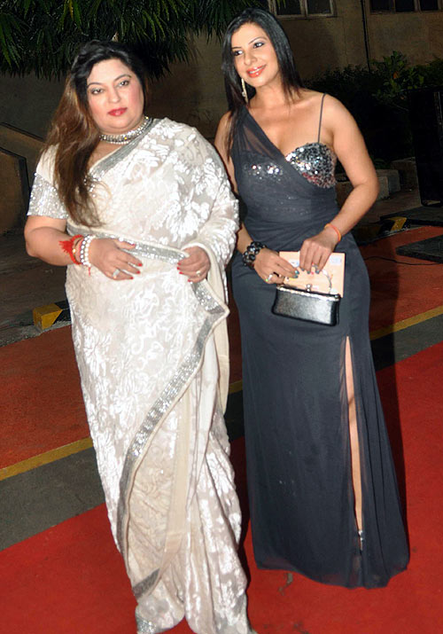 Dolly Bindra and Sambhavna Seth