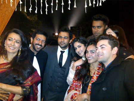 Mini Mathur, Kabir Khan, Ali Abbas Zafar, Katrina Kaif, Bosco, Karishma and Neil Nitin Mukesh