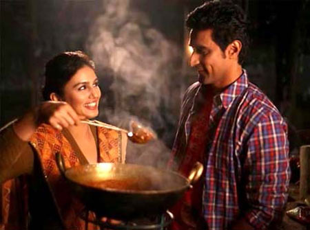 Huma Qureshi and Kunal Kapoor in