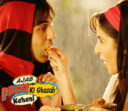 Movie poster of Ajab Prem Ki Ghazab Kahani