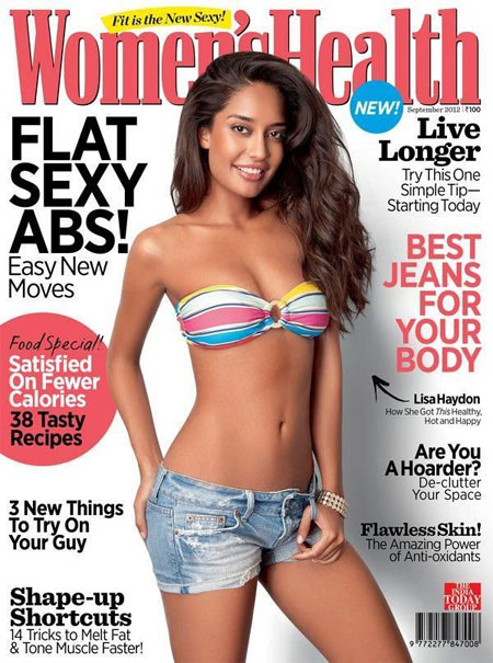 Lisay Haydon on the Women's Health cover