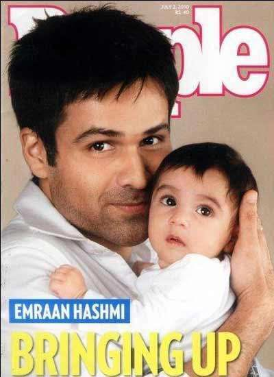 Emraan Hashmi with son Ayaan