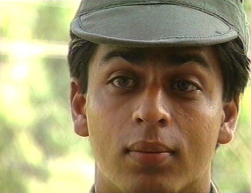 Shah Rukh Khan in Fauji