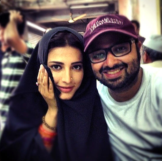 Shruti Haasan and Nikhil Advani