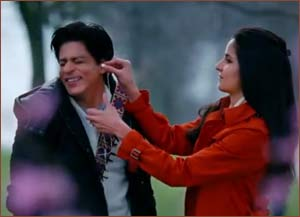 Shah Rukh Khan and Katrina Kaif in JTHJ