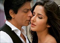 Shah Rukh Khan and Katrina Kaif in Jab Tak Hai Jaan