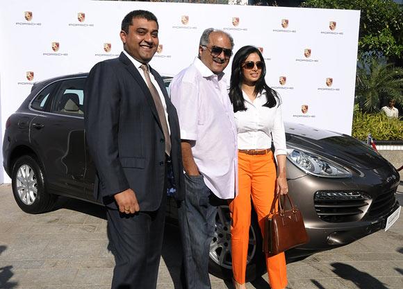 Anil Reddi, Boney Kapoor, Sridevi