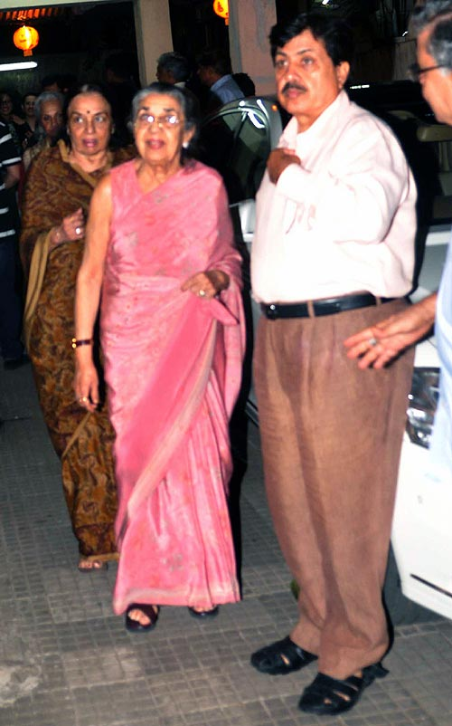 Shammi and Asha Parekh