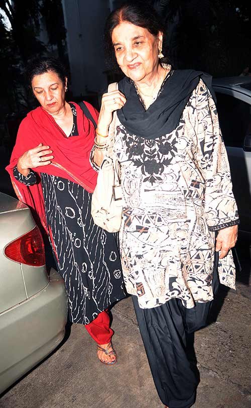 Sushma Anand (right) with a friend