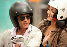 Shah Rukh Khan and Anushka Sharma in Jab Tak Hai Jaan