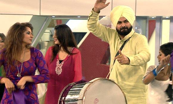 Navjot Singh Sidhu on Bigg Boss 6