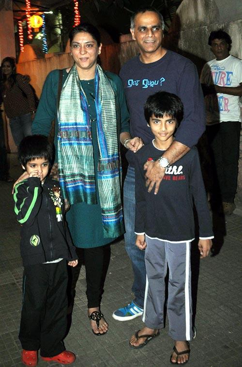 Priya Dutt, Owen Roncon, Siddharth and Sumair