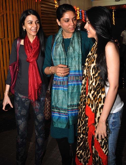 Namrata Dutt, Priya Dutt and Saachi