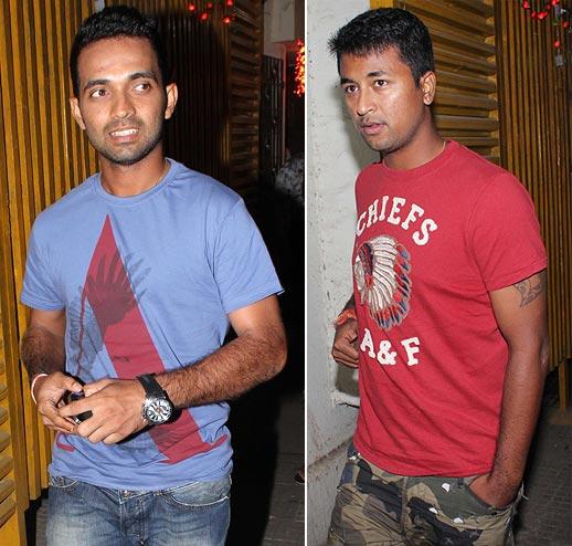 Ajinkya Rahane and Pragyan Ojha