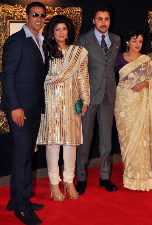 Akshay Kumar, Twinkle Khanna, Imran khan and Avantika Malik