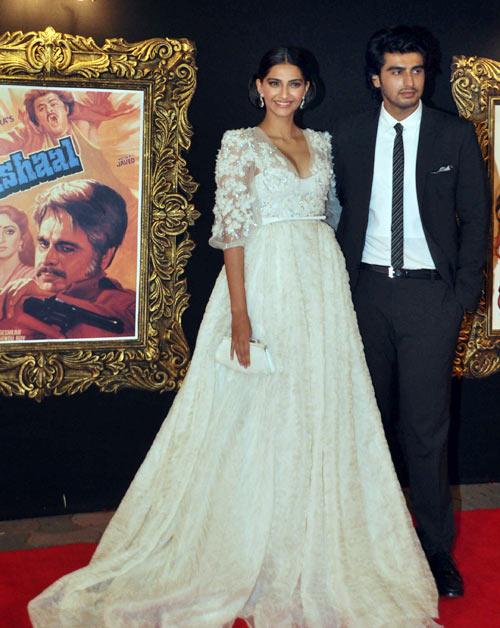 Sonam and Arjun Kapoor