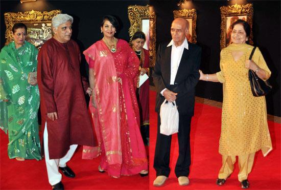 Poonam Sinha, Javed Akhtar, Shabana Azmi