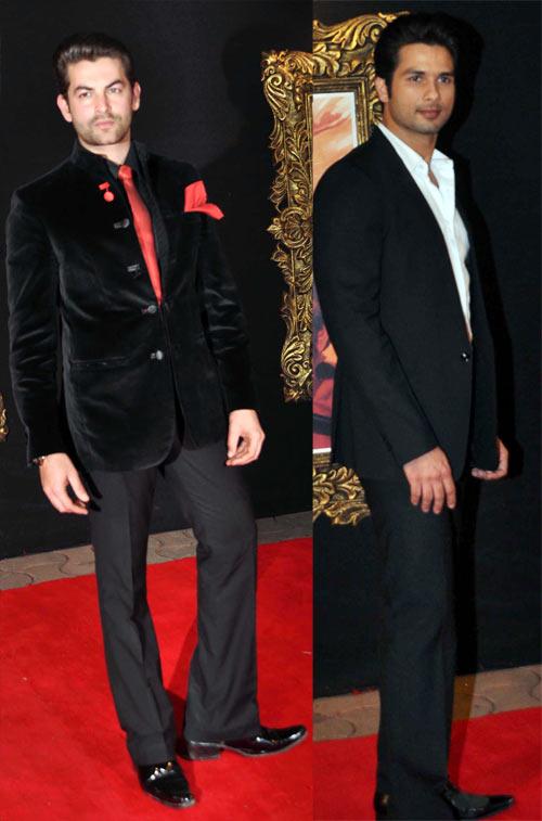 Neil Nitin Mukesh, Shahid Kapoor