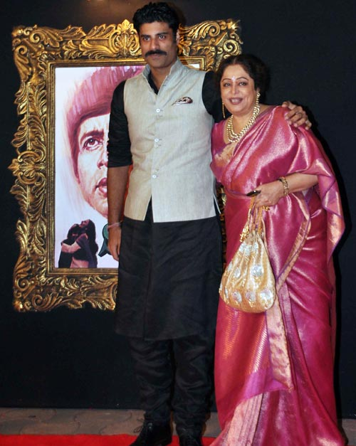 Kirron and Sikander Kher