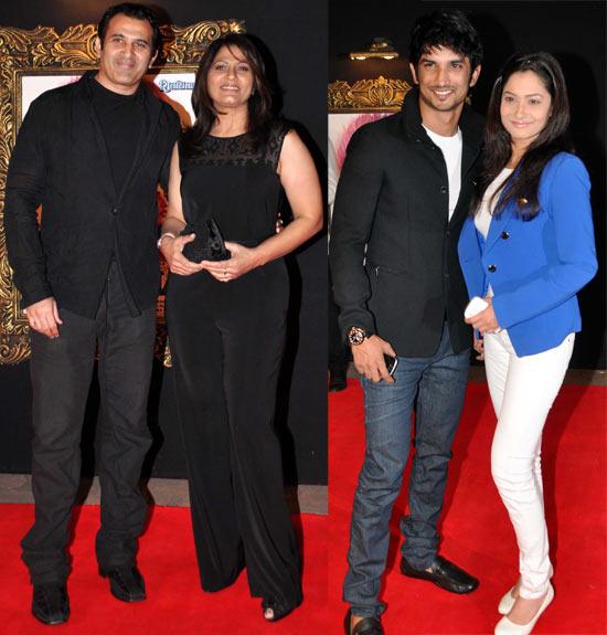 Parmeet Sethi, Archana Puran Singh, Sushant Singh and Ankita Lokande