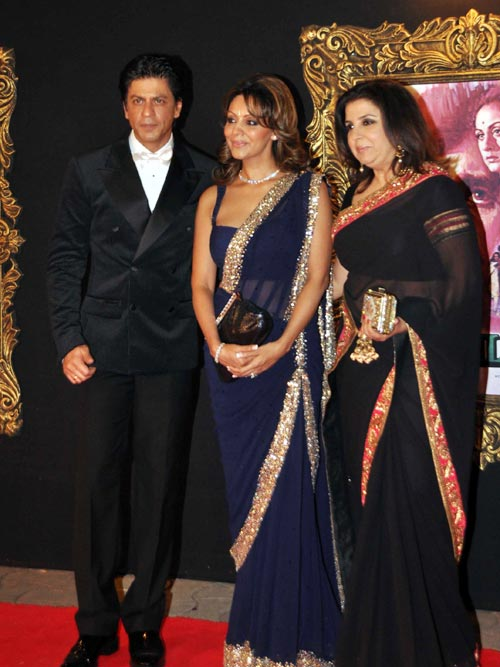 Shah Rukh, Gauri and Farah Khan