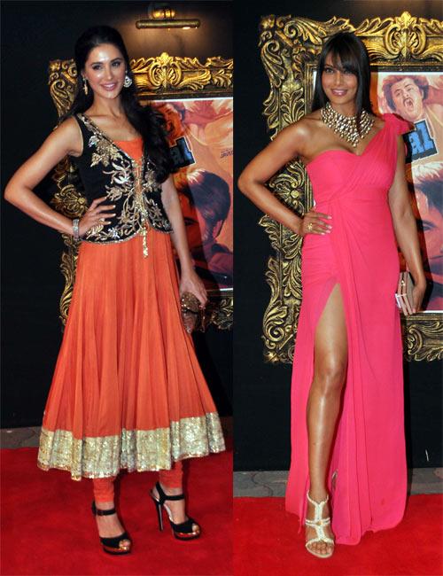 Nargis Fakhri and Bipasha Basu