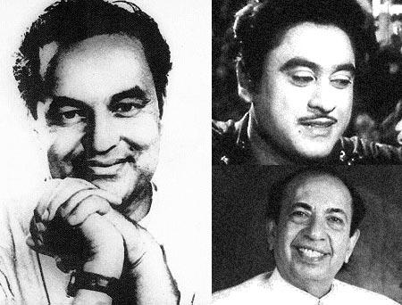 Mukesh, Kishore Kumar, Mahendra Kapoor