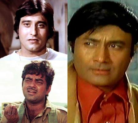 Vinod Khanna, Shatrughan Sinha, Dev Anand
