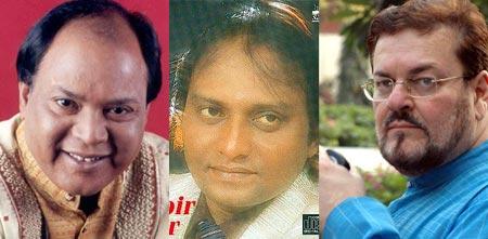 Mohammed Aziz, Shabbir Kumar, Nitin Mukesh