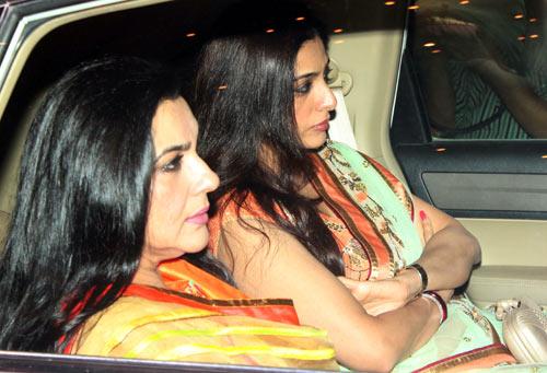 Amrita Singh and Tabu