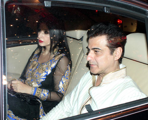 Maheep and Sanjay Kapoor
