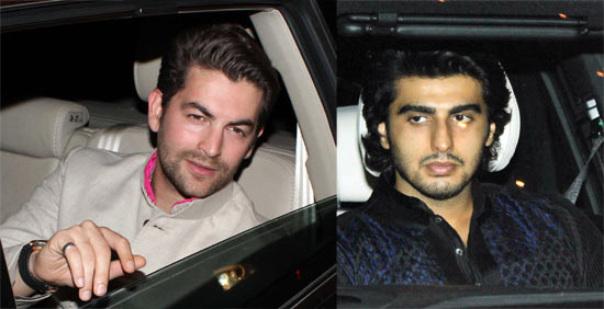 Neil Nitin Mukesh and Arjun Kapoor