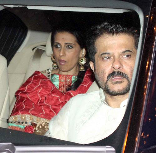Sunita and Anil Kapoor