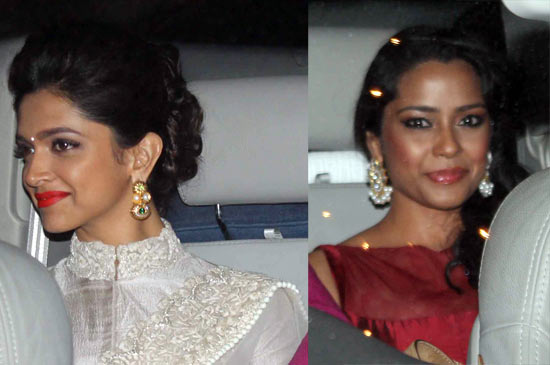 Deepika Padukone and Shahana Goswami