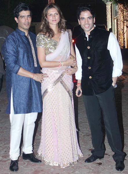Manish Malhotra, Nandita Mahtani, Tusshar Kapoor