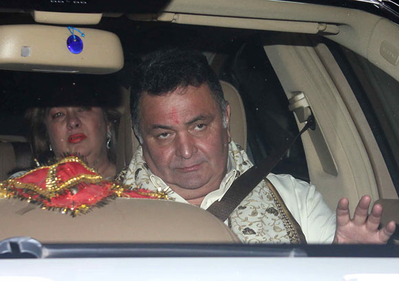 Rishi Kapoor and Reema Jain