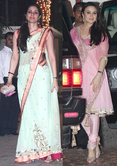 Tabu and Preity Zinta