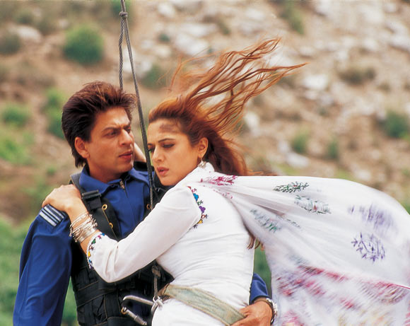 A scene from Veer-Zaara
