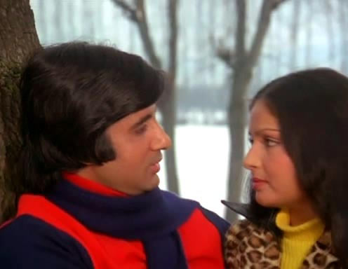 A scene from Kabhie Kabhie