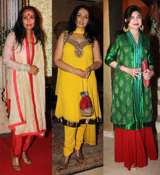 Suchitra Pillai, Suchitra Krishnamoorthy and Alka Yagnik