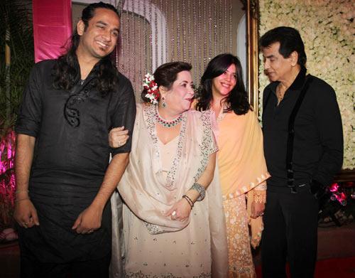 Jeetendra, Ekta and Shobha Kapoor