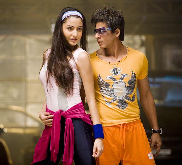 Anushka Sharma and Shah Rukh Khan in Rab Ne Bana Di Jodi