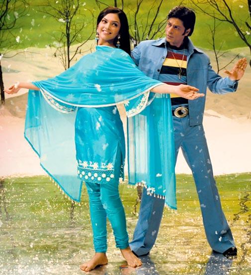 Deepika Padukone and Shah Rukh Khan in Om Shanti Om